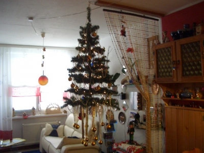 weihnachtsbaum an der decke myxmastree. Black Bedroom Furniture Sets. Home Design Ideas